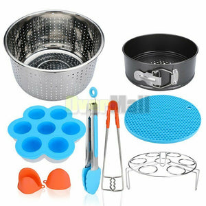 8 Pcs Kitchen Tools Accessories Kit Pressure Cooker Accessories Set Fits 6, 8QT
