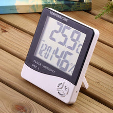 Load image into Gallery viewer, LCD Screen Electronic Alarm Clock