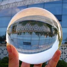 Load image into Gallery viewer, 80mm Glass Transparent Crystal Ball