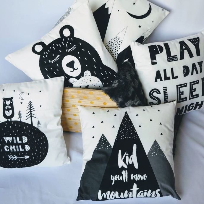 Playful Velvet Soft Pillow Covers