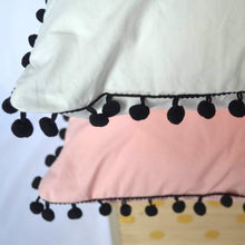 Load image into Gallery viewer, Sweet Pom Tassel Pillow Covers