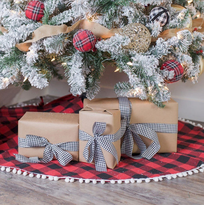 Farmhouse Buffalo Plaid Tree Skirt
