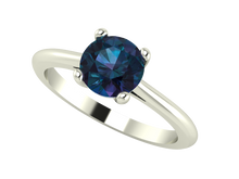 Custom 1 Ct Round Solitaire