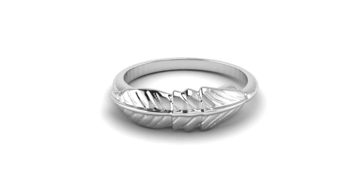 Adjustable Feather Ring