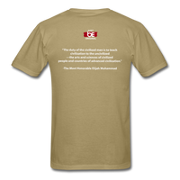 Get CIVILIZED T-Shirt - khaki