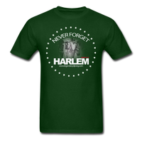 NEVER FORGET HARLEM T-Shirt - forest green