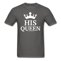 HIS QUEEN T-Shirt - charcoal