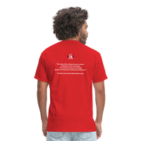 GET CIVILIZED T-Shirt - red