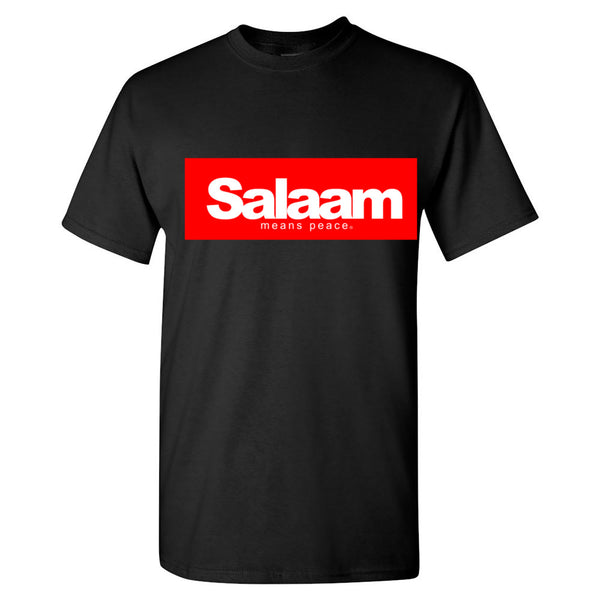 Salaam means peace
