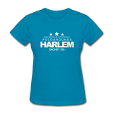 POLOGROUNDS HARLEM Women's T-Shirt - turquoise