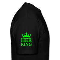 HER KING -Shirt - black
