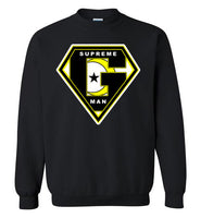 SUPREME MAN Crewneck Sweatshirt