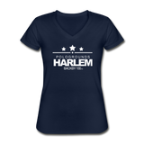 POLOGROUNDS HARLEM WOMENS  V-Neck T-Shirt - navy
