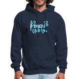 PEACE BE UNTO YOU  Hoodie - navy
