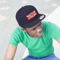 Nation Strong Unisex Flat Bill Hat