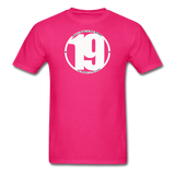 19 THERE'S POWER THAT NUMBER T-Shirt - fuchsia
