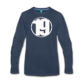 19 THERE'S POWER THAT NUMBER Premium Long Sleeve T-Shirt - navy