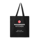 MUHAMMAD'S KITCHEN Tote Bag - black
