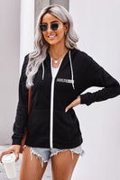 HARLEM 155 OUR BRAND ONLY Women's Zip Hoodie