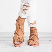 2019 Women Sandals Rome Style Summer Shoes Woman Gladiator Sandals Flip Flop Female Flat Sandals Lady Beach Sandalias Mujer