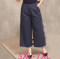 Autumn Winter for women loose casual straight wide leg pants
