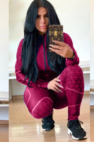 Womens Two Piece Track Suit