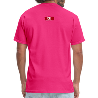 TAKE EM UPTOWN TO THE POLO GROUNDS (DJ RON G) T-Shirt - fuchsia