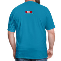 LIVING MY BEST LIFE T-Shirt - turquoise