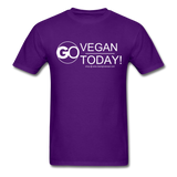 GO Vegan Today T-Shirt - purple