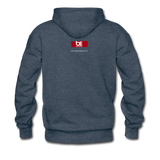 The Man The Message The Music  Premium Hoodie - heather denim