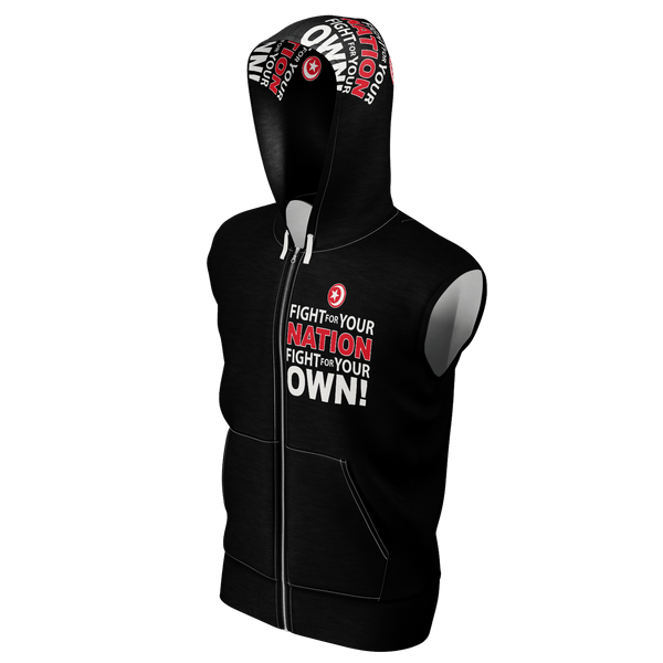 FIGHT FOR YOUR OWN  Sleeveless Hoodie