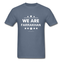 WE ARE FARRAKHAN T-Shirt - denim