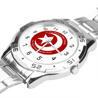 The Time & What Must Be Done Mens Stainless Steel Watch