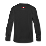 The Man The Message The Music  Premium Long Sleeve T-Shirt - black