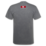 Born to Deliver The Message T-Shirt - mineral charcoal gray