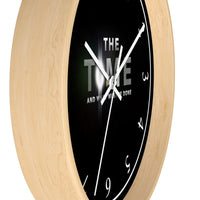 The TIME & What Must be Done Reminder Wall clock