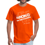 BACK BY 155 Dj Ron G T Shirt - orange