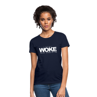 I Stay Woke Women's T-Shirt - navy