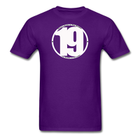 19 THERE'S POWER THAT NUMBER T-Shirt - purple