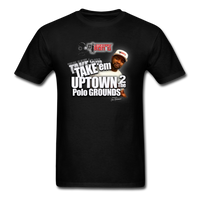 Take Em Up Town 2 The Polo Grounds  (DJ RON G) T-Shirt - black