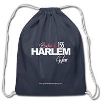 BACKED BY 155 HARLEM WEAR Drawstring Bag - navy