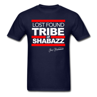 LOST FOUND TRIBE OF SHABAZZ (SILVERBACK EDITION) T-Shirt - navy