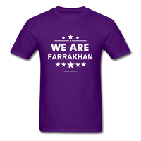 WE ARE FARRAKHAN T-Shirt - purple
