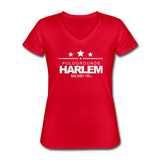 POLOGROUNDS HARLEM WOMENS  V-Neck T-Shirt - red
