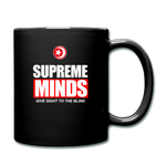 SUPREME MINDS Full Color Mug - black