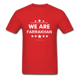 WE ARE FARRAKHAN T-Shirt - red