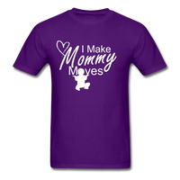 I Make Mommy Moves T Shirt - purple
