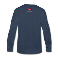 The Man The Message The Music  Premium Long Sleeve T-Shirt - navy