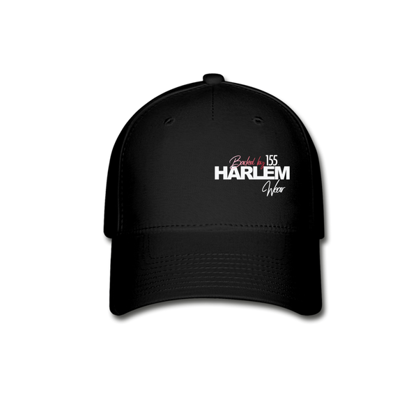 BACKED BY 155 HARLEM WEAR Cap - black
