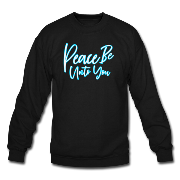 PEACE BE UNTO YOU Sweatshirt - black